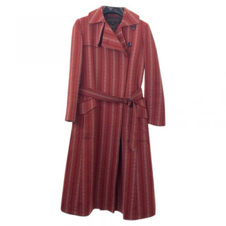 Louis Vuitton Red Cotton Trench coats