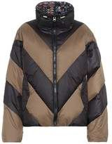 Public School Nakia chevron striped down jacket