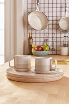 Urban Outfitters 6-Piece Raw Dipped Dinnerware Set