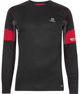 Salomon Agile Mesh-Trimmed AdvancedSkin ActiveDry T-Shirt