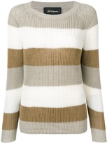 Les Copains striped knitted sweater