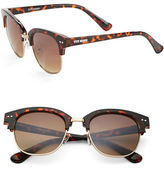 Steve Madden 50mm Wayfarer Sunglasses