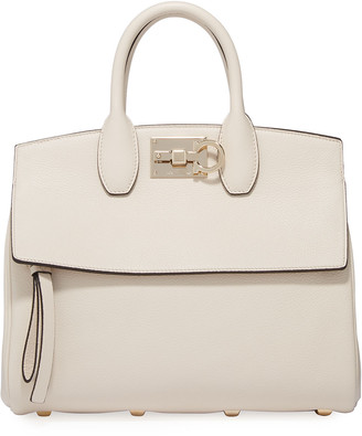 Salvatore Ferragamo The Studio Small Top-Handle Bag