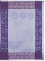 Garnier Thiebaut Set of 2 Kitchen Towels - Hortensia Bleu