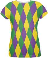 Old Glory Mardi Gras Jester Costume All Over Womens T-Shirt - 2X-Large