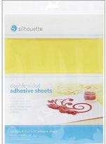 Silhouettes Silhouette Double-Sided Adhesive Sheets