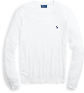 Ralph Lauren Cotton-Linen Crewneck Jumper