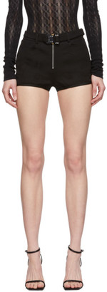 Alyx Black Riding Pantie Shorts