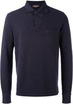 Loro Piana open neck polo top - men - Cotton/Cashmere - XS