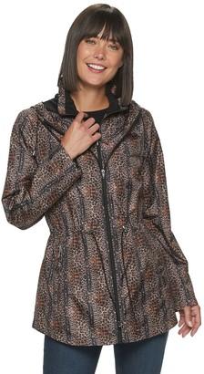 Details Women's Hooded Parka-In-a-Pocket Jacket