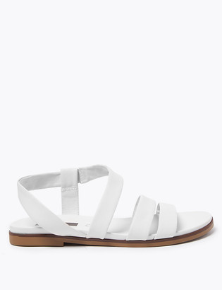 Marks and Spencer Leather Two Band Sandals