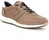 Ecco Men's Summer Suede Leather Lace-Up Sneakers