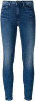 CK Calvin Klein super skinny cropped jeans