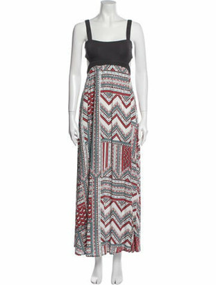 L-Space Printed Long Dress