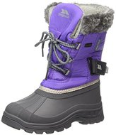 Trespass Stroma, Girls' Snow Boots, Blue Ice), 10 Child UK (28 EU)