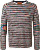 Missoni striped reversible sweater - men - Cotton - 46