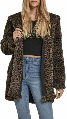 Urban Classics Women's Ladies Teddy Coat
