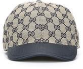 Gucci Kids - GG Supreme baseball cap - kids - Cotton/Polyester/Polyimide - 54 cm