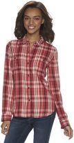 Mudd Juniors' 2-Pocket Button Down Shirt