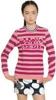 Kenzo Paris Embroidered Cotton Sweatshirt