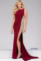 Jovani Jersey Fitted prom Dress 48852