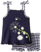 Mud Pie Daisy Tank Top and Bloomers Set Girl's Active Sets