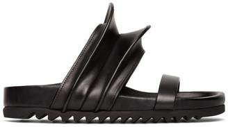 Rick Owens Black Brancusi Granola Sandals