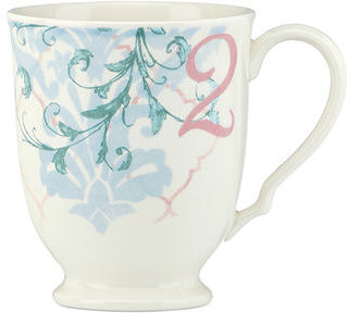 Lenox CLOSEOUT! Dinnerware, Collage by Alice Drew Butterfly Mug