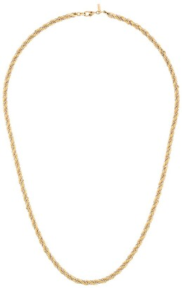 Monet Pre-Owned twisted chain necklace