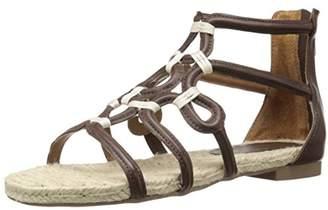 Adrienne Vittadini Footwear Women's PABLIC Gladiator Sandal
