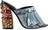 Gucci Trompe l'oeil sequin sandal