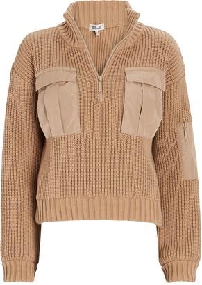 Baum und Pferdgarten Clyde Half-Zip Cargo Sweater