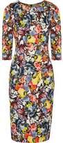 Erdem Wilhelmina Floral-Print Ponte Dress