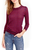 J.Crew Women's Tippi Houndstooth Sweater