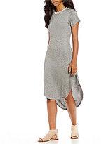 GB Rib Knit Midi Dress