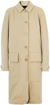 Burberry Dayrell wool lined cotton car coat