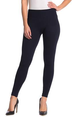 Hue Arrow Cable Knit Brushed Seamless Leggings