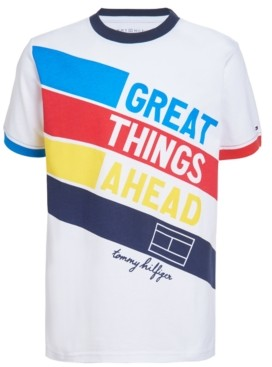 Tommy Hilfiger Little Boys Great Things Ahead T-shirt