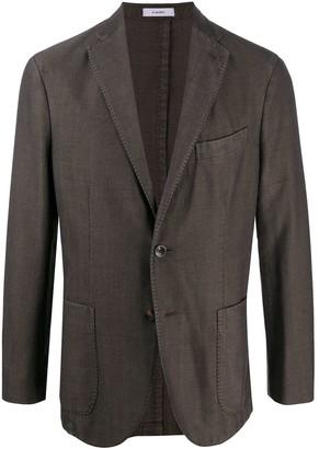 Boglioli Dark Brown Blazer Jacket