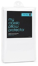 Bloomingdale's Classic 300 Thread Count Standard Pillow Protector, Pack of 2 - 100% Exclusive