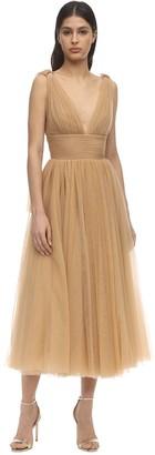 Maria Lucia Hohan Nella Tulle Midi Dress