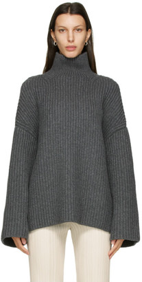 Nanushka Grey Raw Turtleneck