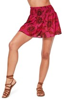 Missguided Women's Printed Chiffon Shorts