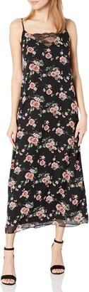Sugar Lips Sugarlips Women's Endless Floral Print Maxi Dress