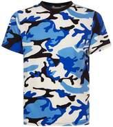 Sandro Camouflage Printt-shirt