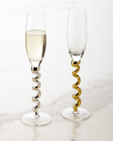 Qualia Glass S/4 TWIST FLUTES
