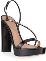 Gianvito Rossi Asymmetric Platform Sandals