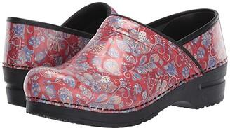 Sanita Jaclyn (Red) Women's Clog Shoes