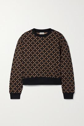 By Malene Birger Yasmia Cotton-blend Jacquard Sweater