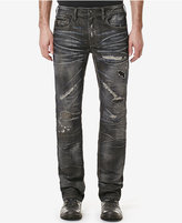 Buffalo David Bitton Men's Indigo Ripped Jeans